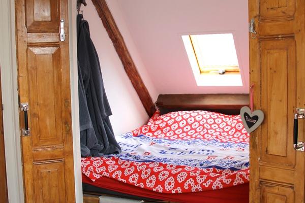 foto bed hooikamer